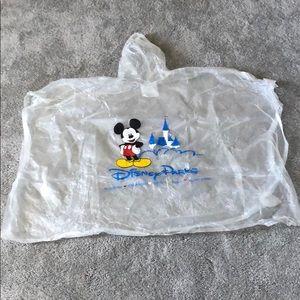 3- Disney world ponchos